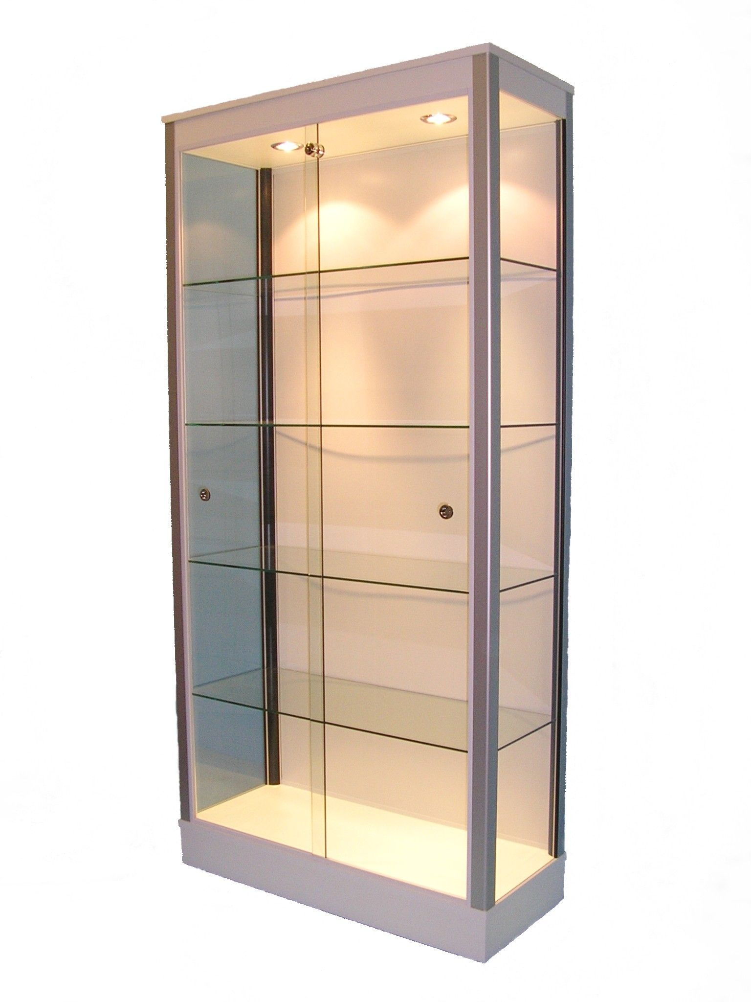 Large Gl Display Cabinets