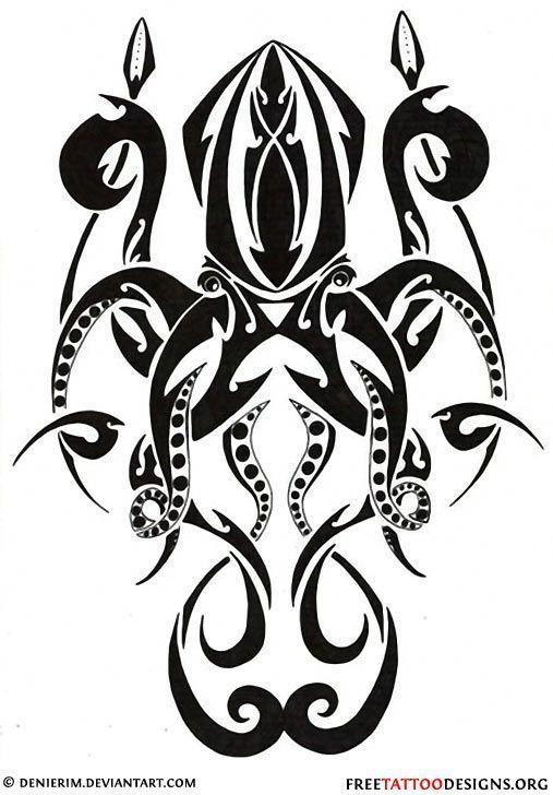 Photo of Tribal Octopus Tattoo Design – – # Weitere Informationen finden Sie unter tattoos15.vasepin …- ## octopus …
