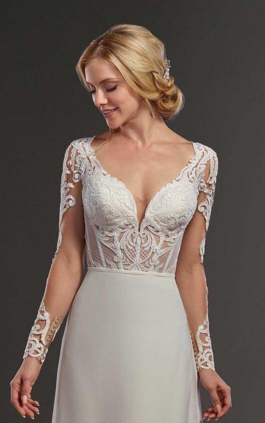 Whimsical Vintage Wedding Dress Separates