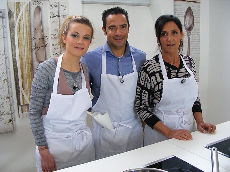 Accademia Montersino: il terzo gruppo di allievi, Valeria Mandura,Gianluca Lupo e Isabella Mari