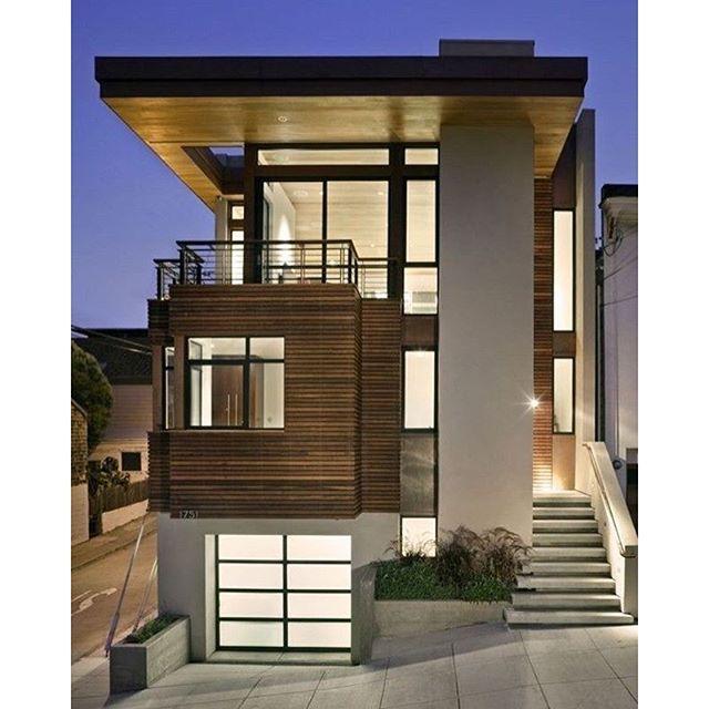 Moderne Hausentwürfe regram archixxi awesome house on a small lot archixxi