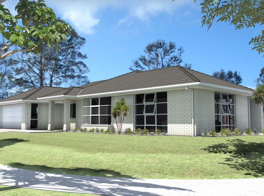 Baycrest 4 Bedroom House Plan Generation Homes NZ