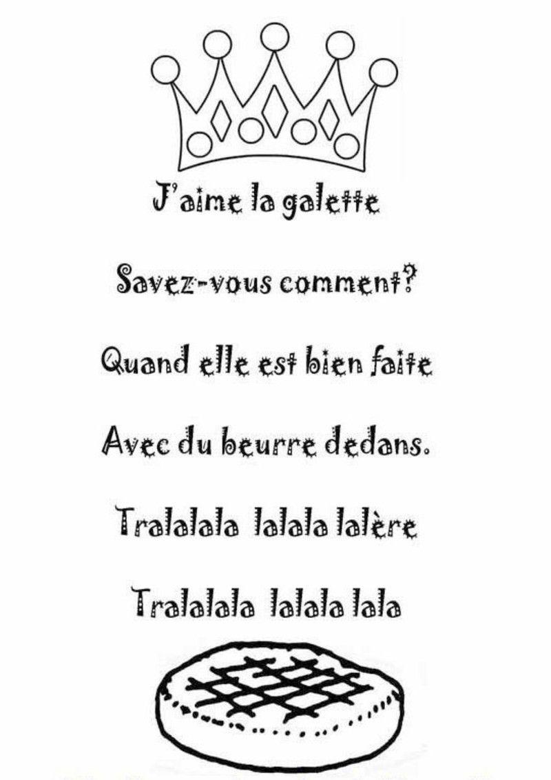Parole J Aime La Galette : parole, galette, Comptine, J'aime, Galette, Illustrée, Nounoudunord, Galette,, Comptines