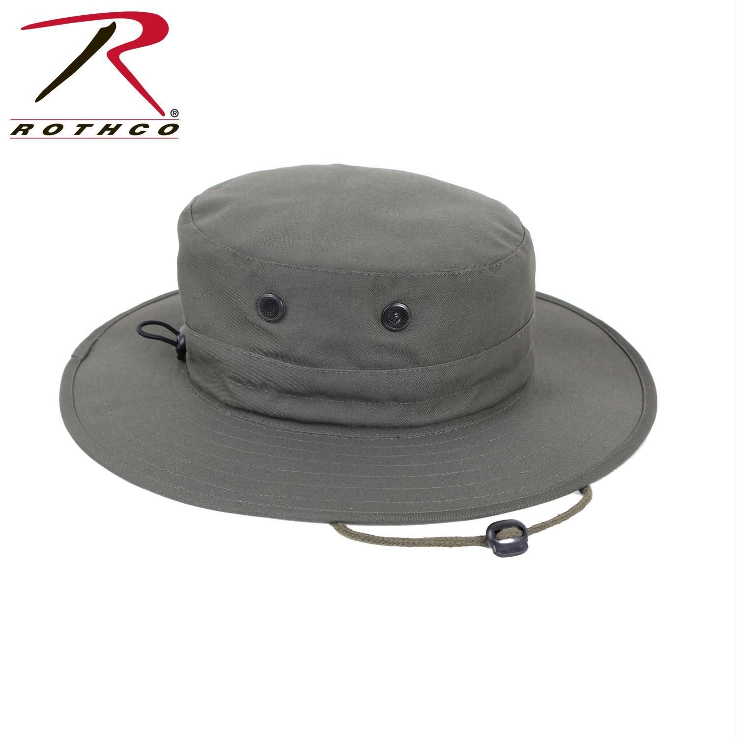 77b5487f487 Rothco Adjustable Boonie Hat in 2018