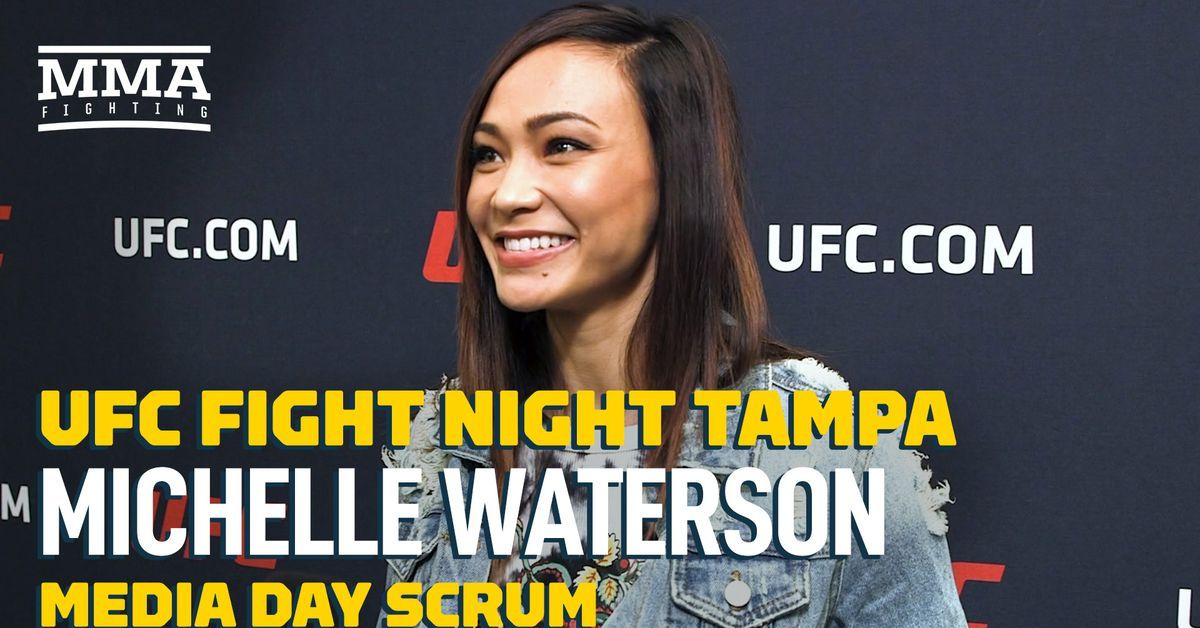 TAMPA, Fla. Michelle Waterson wanted a title shot