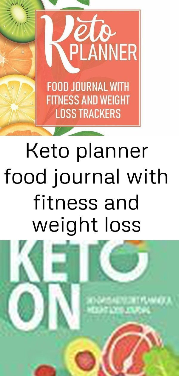 #Fitness #food #journal #keto #log #loss #planner #trackers #weight Keto Planner Food Journal With F...