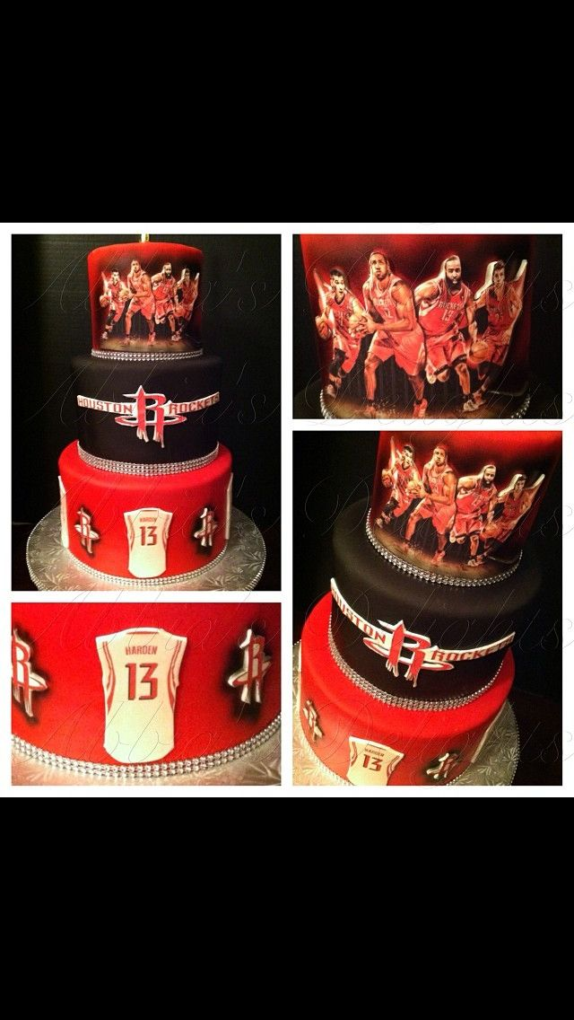Love This Cake And Also My Houston Rockets