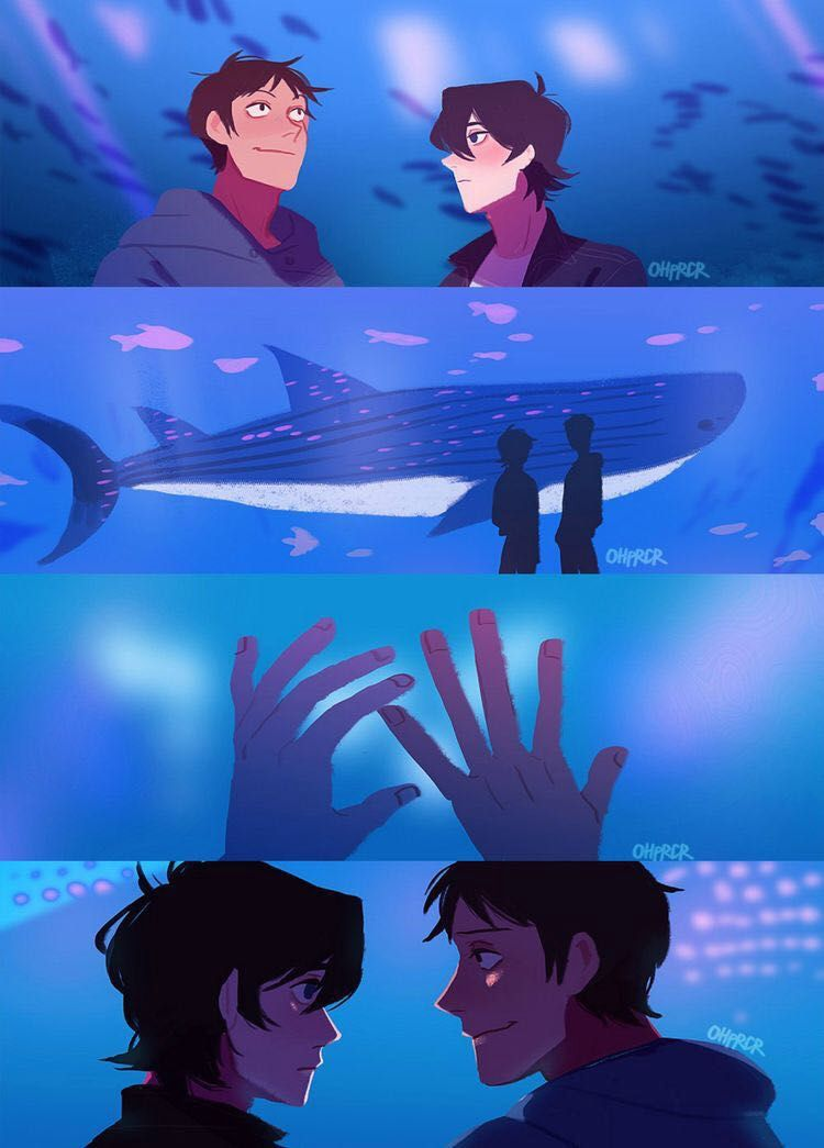 Klance Aquarium Voltron Legendary Defender Pinterest Klance