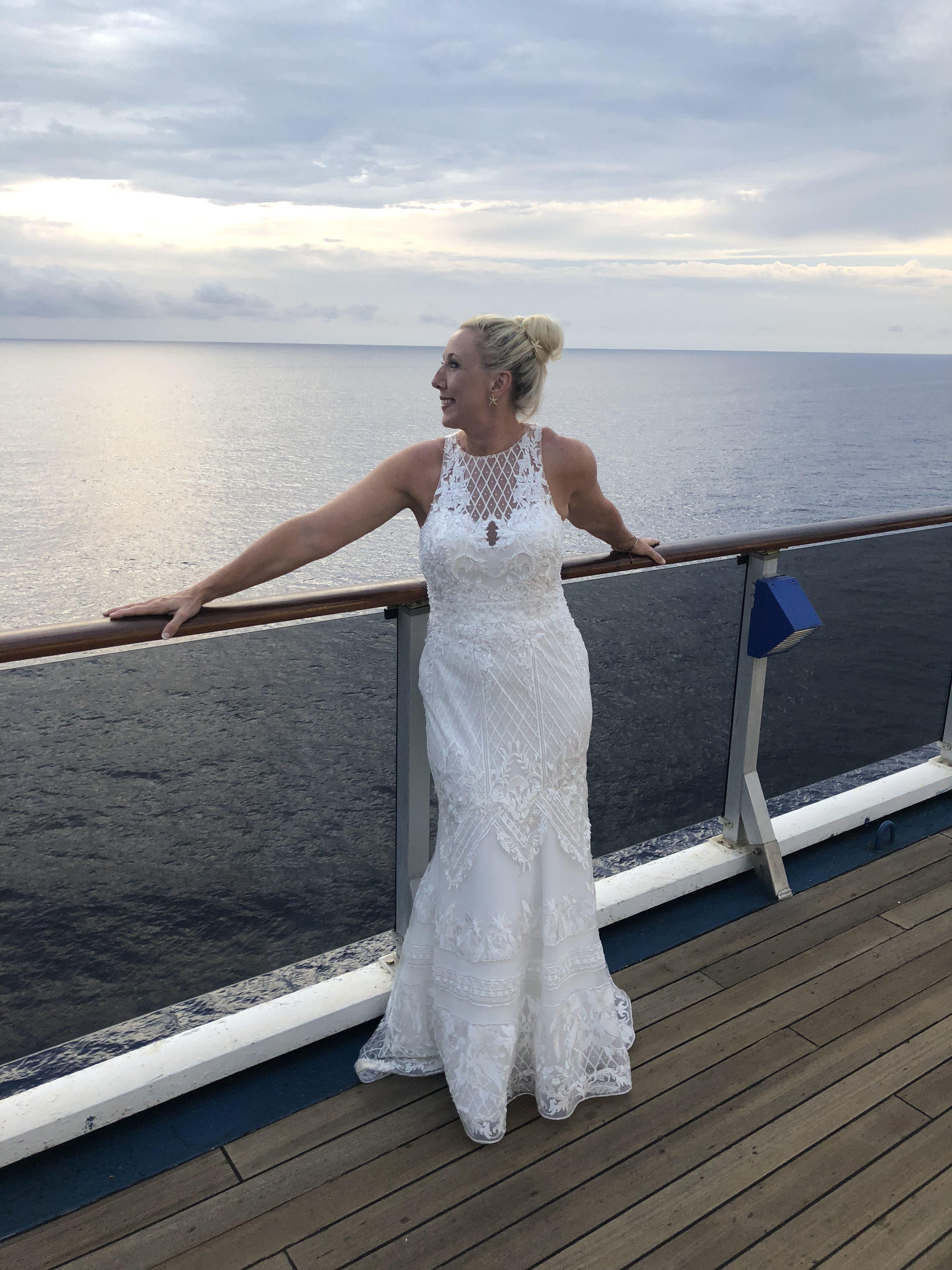 Pin by Rhonda Downton on Cruise Wedding Lace weddings
