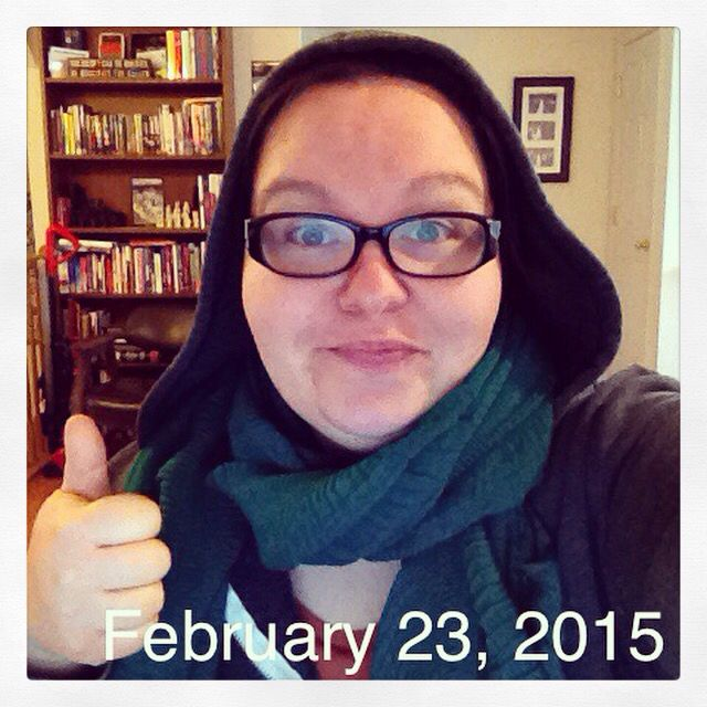 Yesterday morning's #tryonscarfs ...I've gotta learn to post thaws early so they're not a day late.