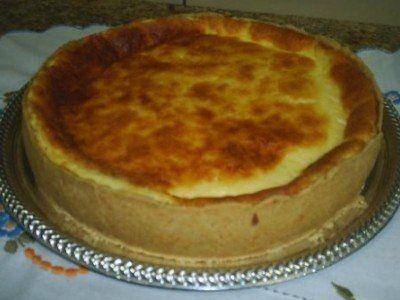 Empadão de queijo