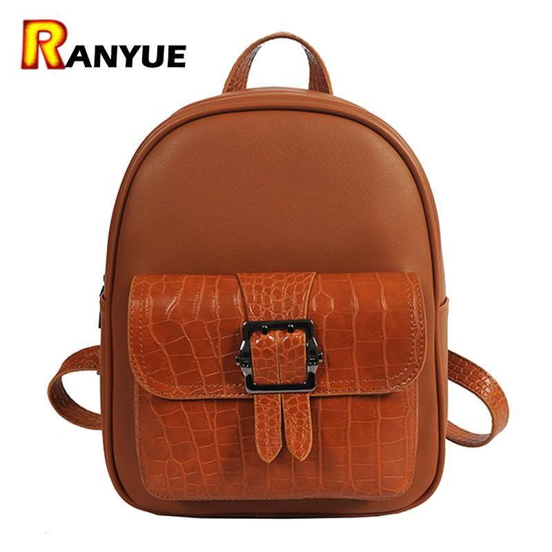 9ca5e81fcac15d 2017 Crocodile PU Leather Women Backpack Female Fashion Rucksack Brand  Ladies Back Bag High Quality School Bags For Teenage Girl  men  high  women   bags ...