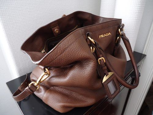 Your Tote Bag Prada On Vestiaire Collective The Luxury Consignment Online Second Hand Yellow In Leather Available