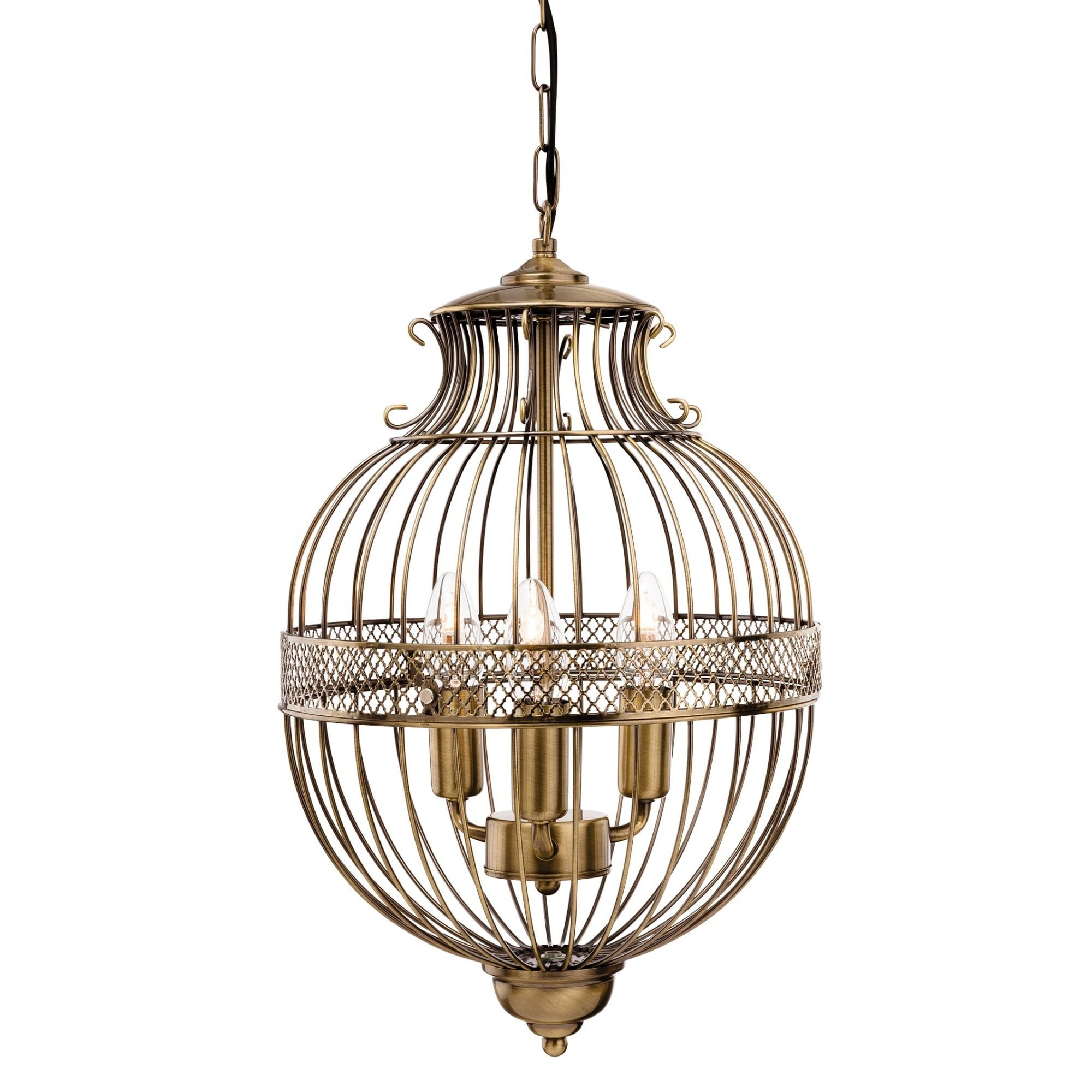 Firstlight Flux Stanford Classic Decorative Bird Cage Style