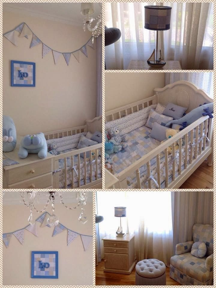 Nursery for baby boy cuarto para varon latiendadecoideas for Habitacion completa bebe boy