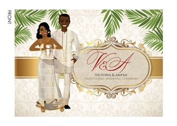 Upendo Kenyan Traditional Wedding Invitation Traditional wedding