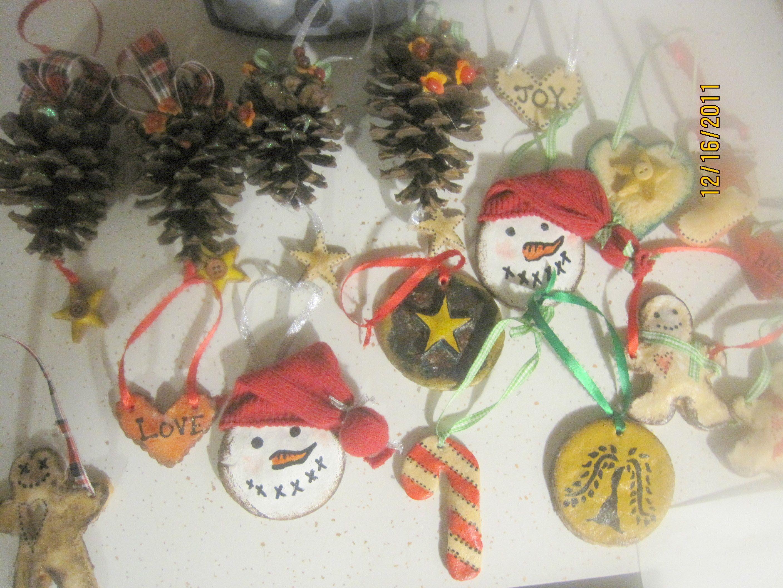 Salt Dough Ornaments We Made For Christmas Presents Diy Christmas Gifts Salt Dough Ornaments Christmas Crafts