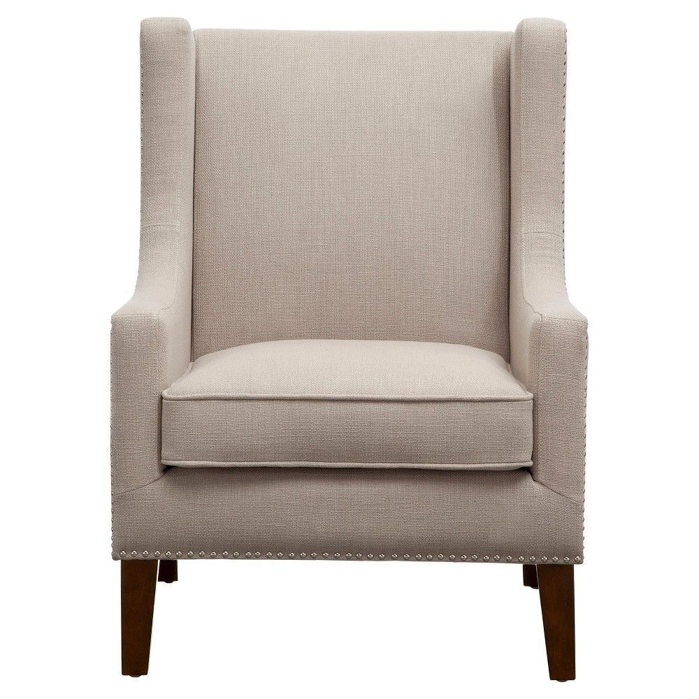 Peachy Colette Wing Chair Linen Accent Chairs Products Chair Ocoug Best Dining Table And Chair Ideas Images Ocougorg