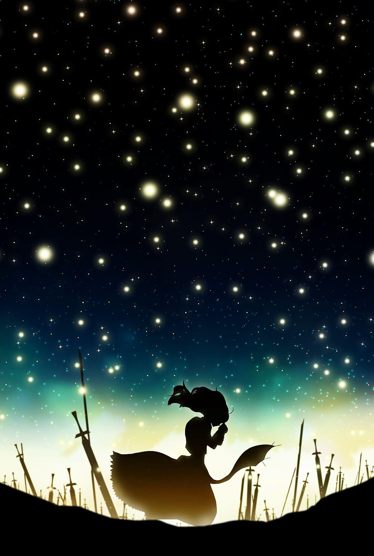 Fate Stay Night Saber By Harada Miyuki アニメの風景 セイバー