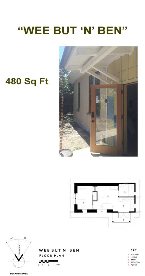 Wee But N Ben Floor Plans Small House House