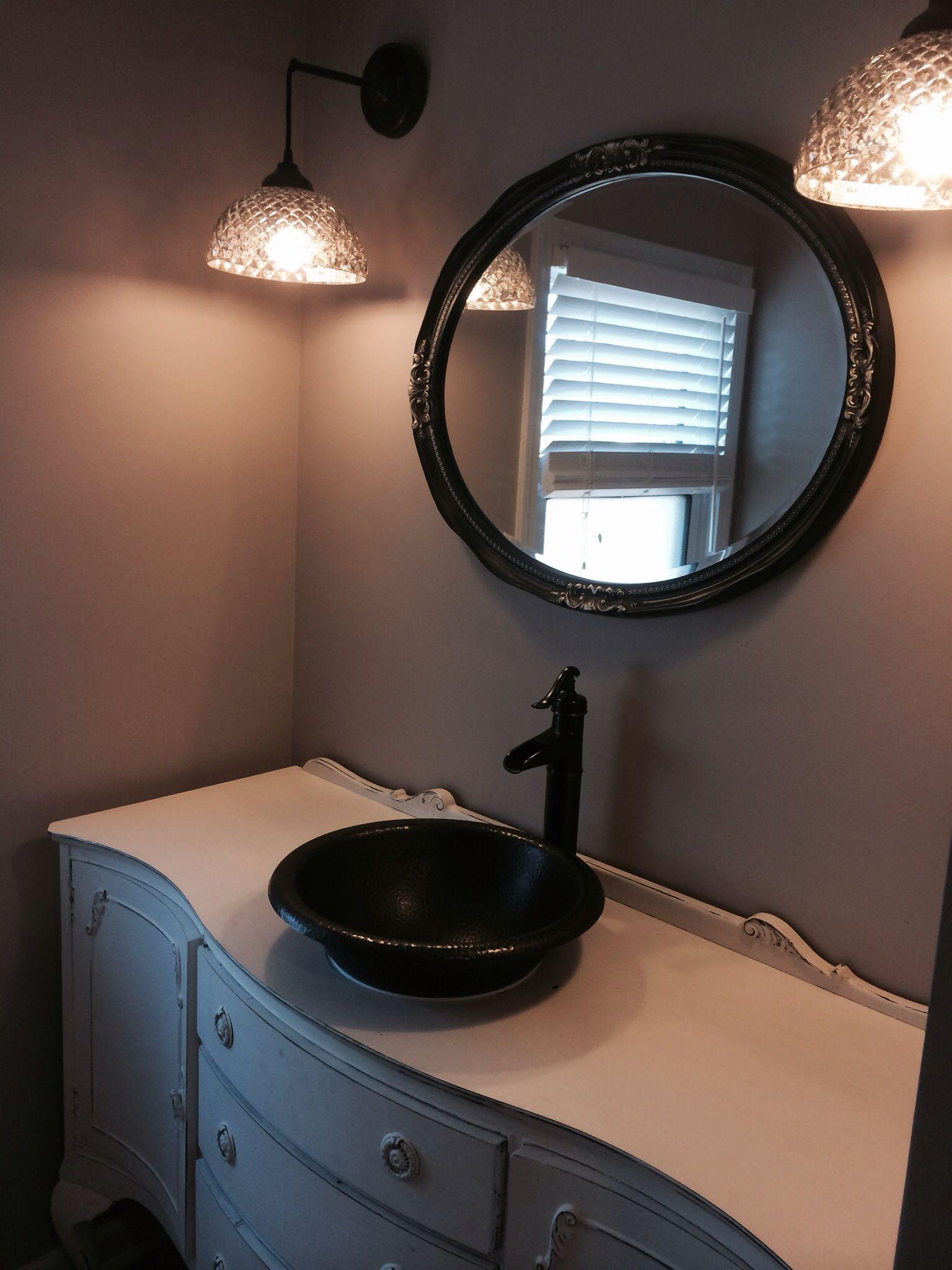 custom antique vanity round mirror bathroom antique on custom bathroom vanity mirrors id=49789
