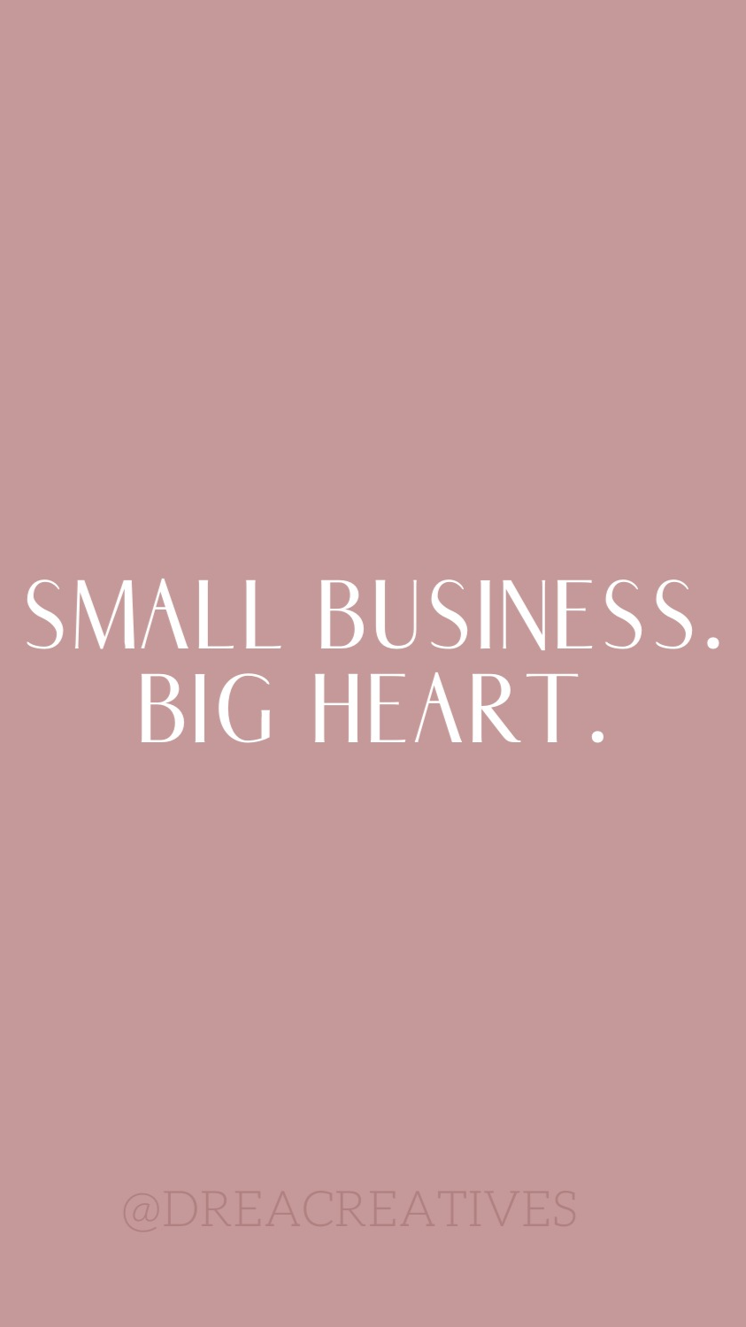 Small Business Quotes. | Drea Creatives
