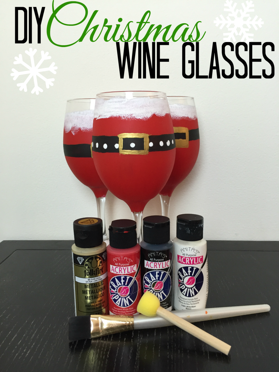 Secret Santa Party Gift Christmas Wine Glass Charms x 5 Table Decoration