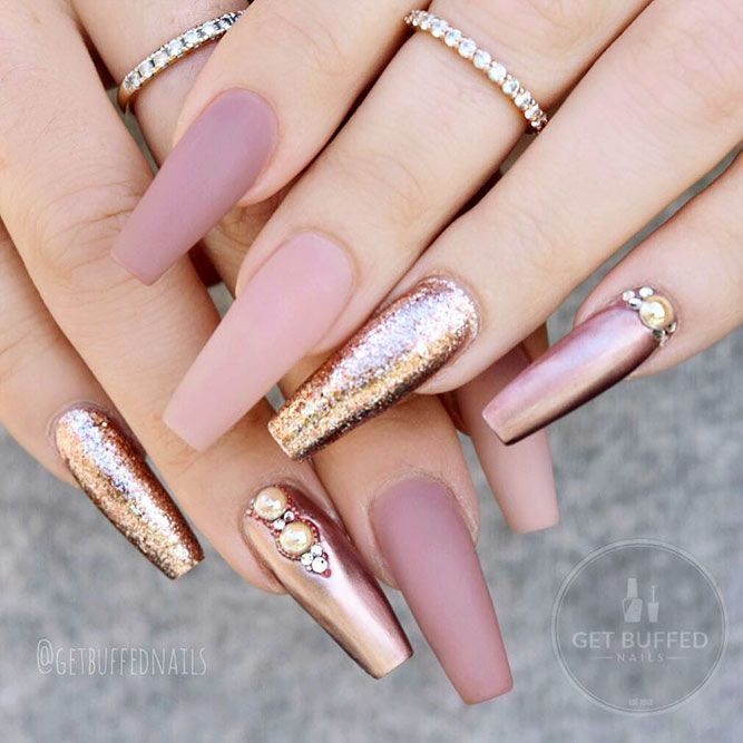 45 Nude Nails Designs For A Classy Look