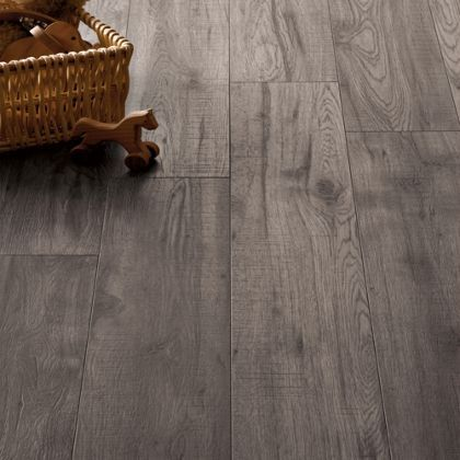 Schreiber Dove Grey Oak Laminate Flooring 1 76 Sq M Per