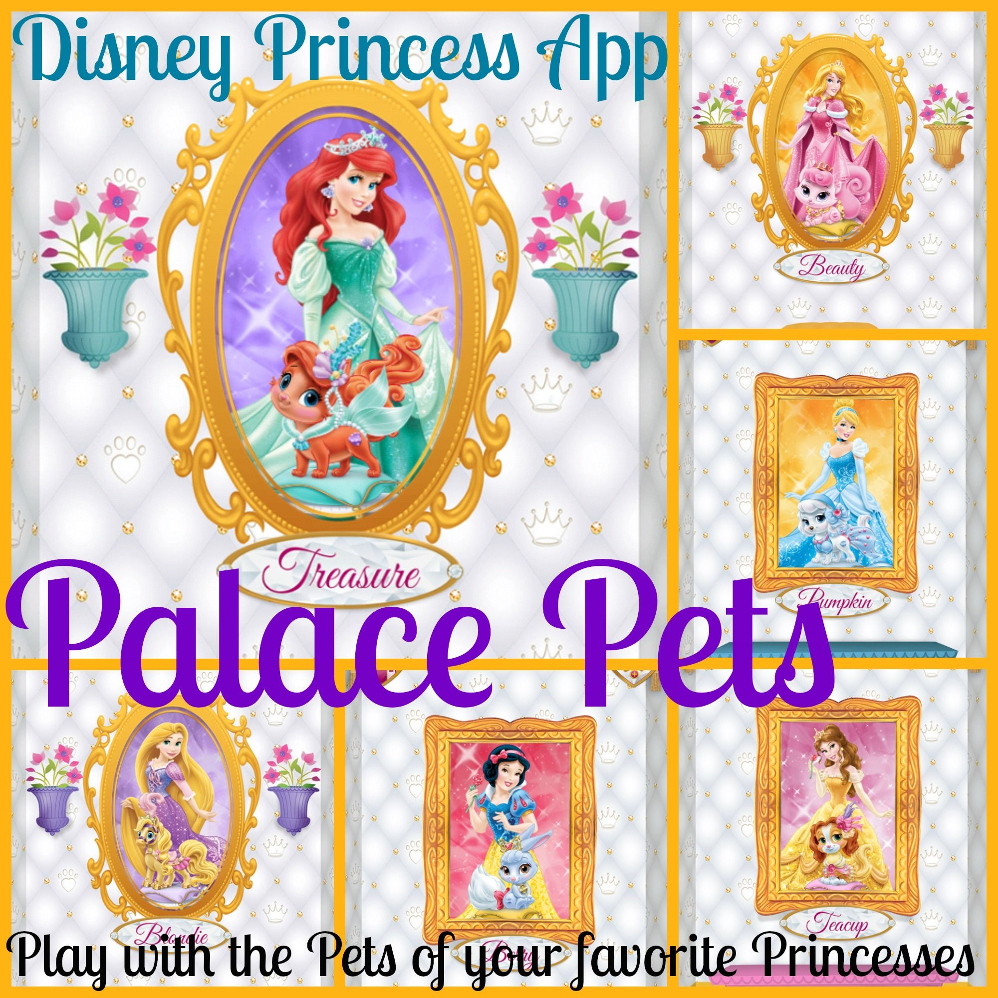 Disney Princess Palace Pets Your Daughter Will Love This App You