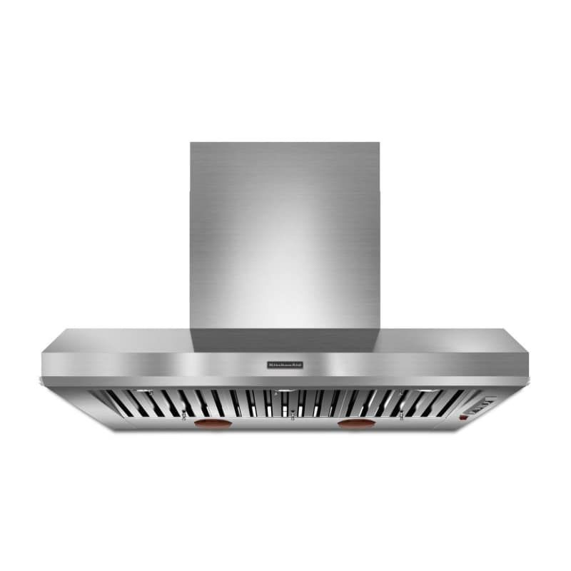 Kitchenaid Kxw9748y 600 1200 Cfm 48 Inch Wide Stainless Steel Commercial Style Stainless Steel Range Hood Wall Mounted Range Hood Kitchen Exhaust Kitchen Aid