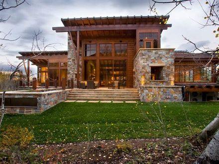 Modern Mountain Homes Modern Rustic Homes, modern rustic ...