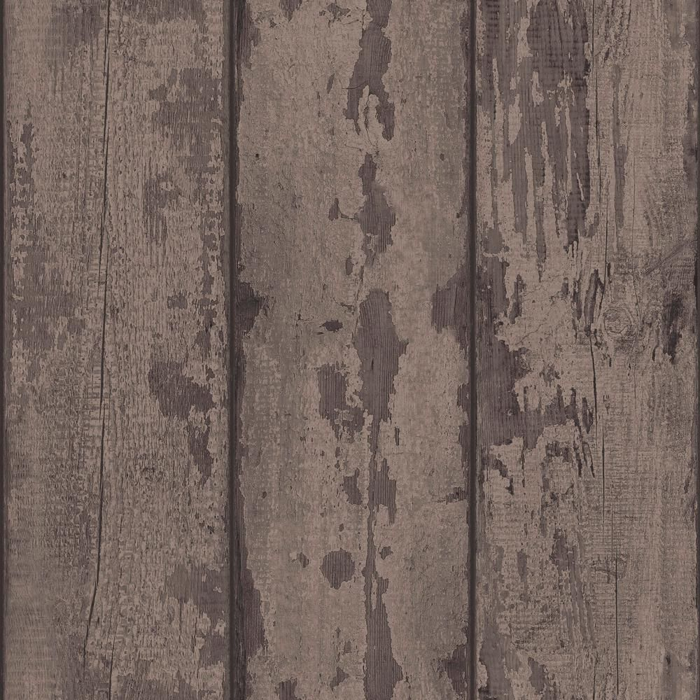 Arthouse Mahogany Wood Plank Fabric Strippable Wallpaper Covers 57 Sq Ft 610802 The Home Depot Wood Plank Wallpaper Mahogany Wood Wood Planks