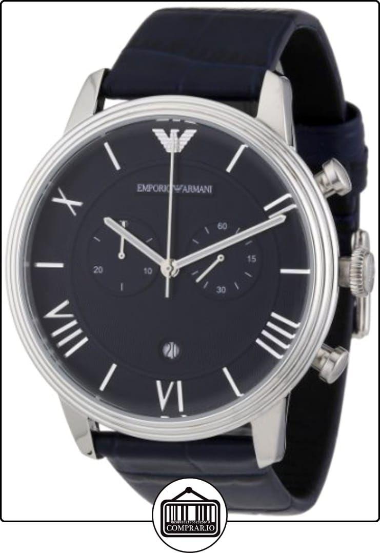4441cdcd407b Emporio Armani AR1652 - Reloj cronógrafo de cuarzo para hombre ...