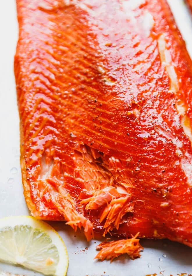 The Best Hot Smoked Salmon Recipe Brined Then Dry Rubbed And Smoked Sockeye Salmon That