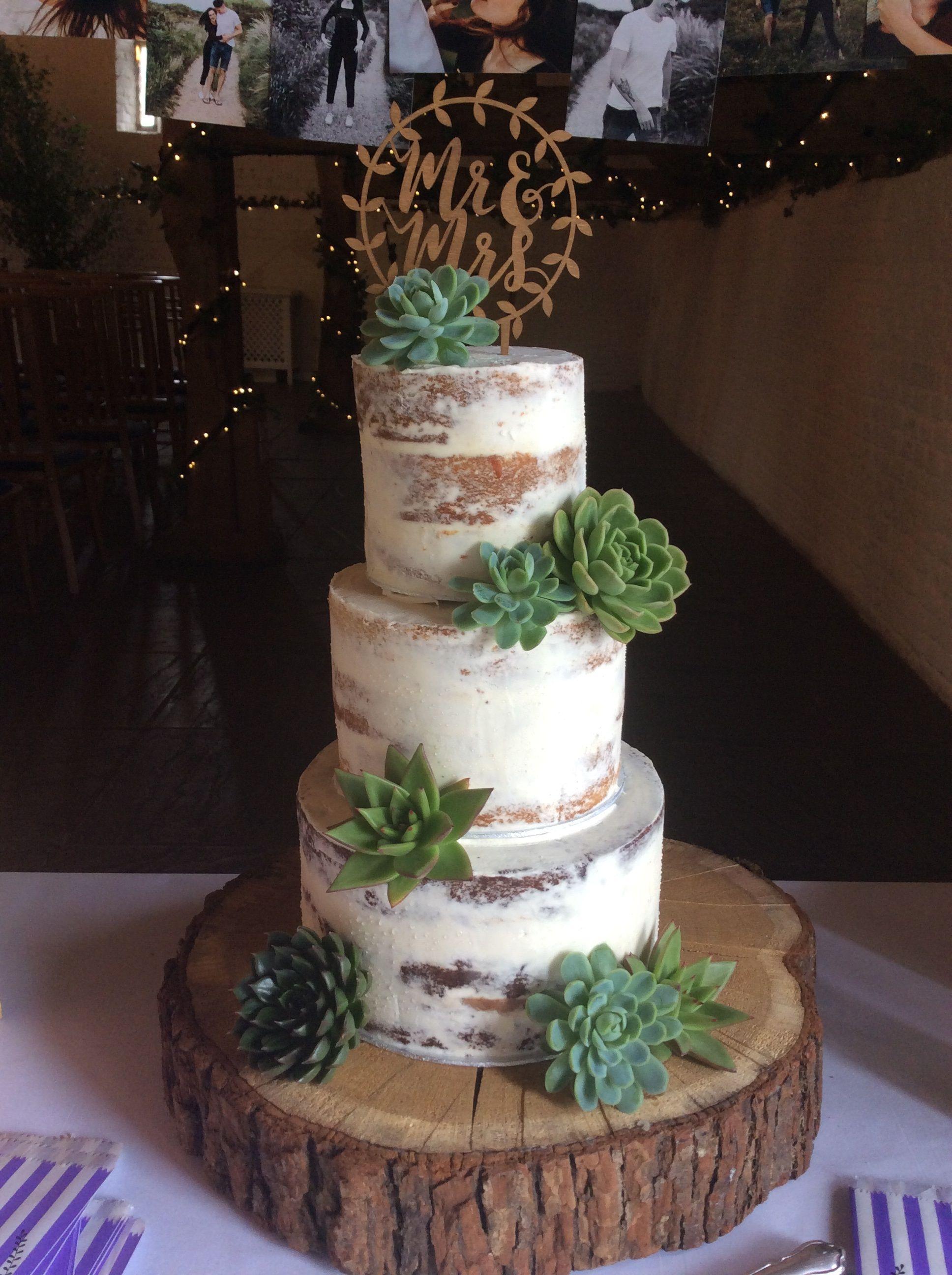 sams club rustic wedding cake - Google Search   Succulent