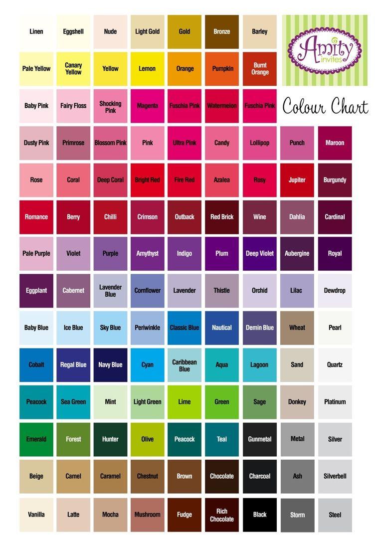 Colours google search colour charts pinterest colour chart colours google search colour chartcolourschartsgoogle nvjuhfo Images