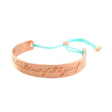 Be Bold Cuff Rose Mint, 89€, now featured on Fab.