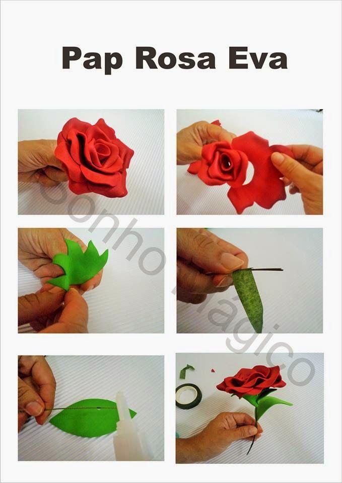 Sonho Magico Festas Passo A Passo Rosa De Eva Rosas De Eva