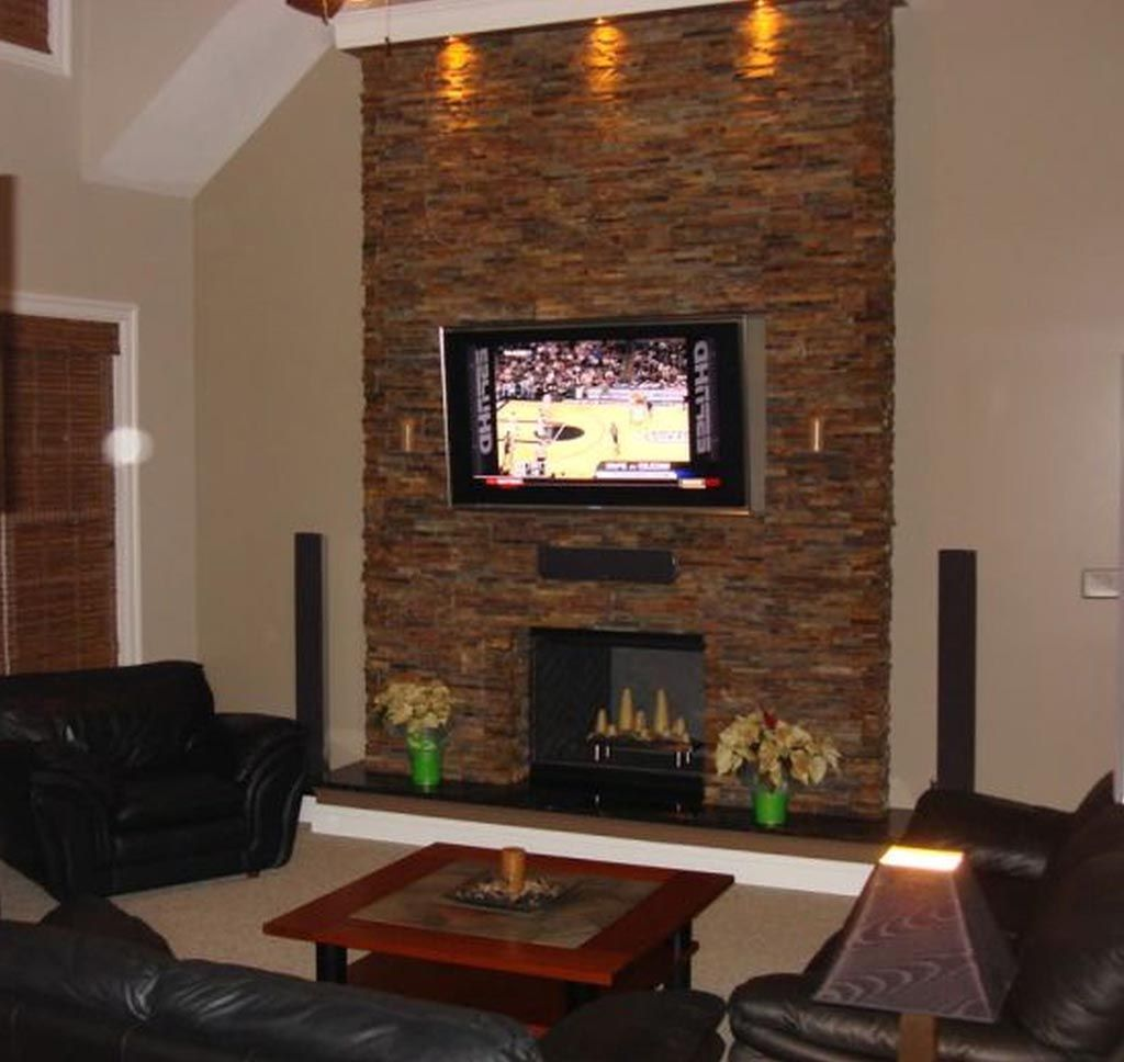 Modern Stone Fireplace Wall Ideas Fireplace Pinterest Room