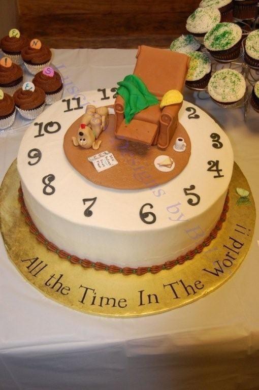 Cake Decoration Ideas Retirement : Retirement cake Decorated Cakes Pinterest Retirement ...