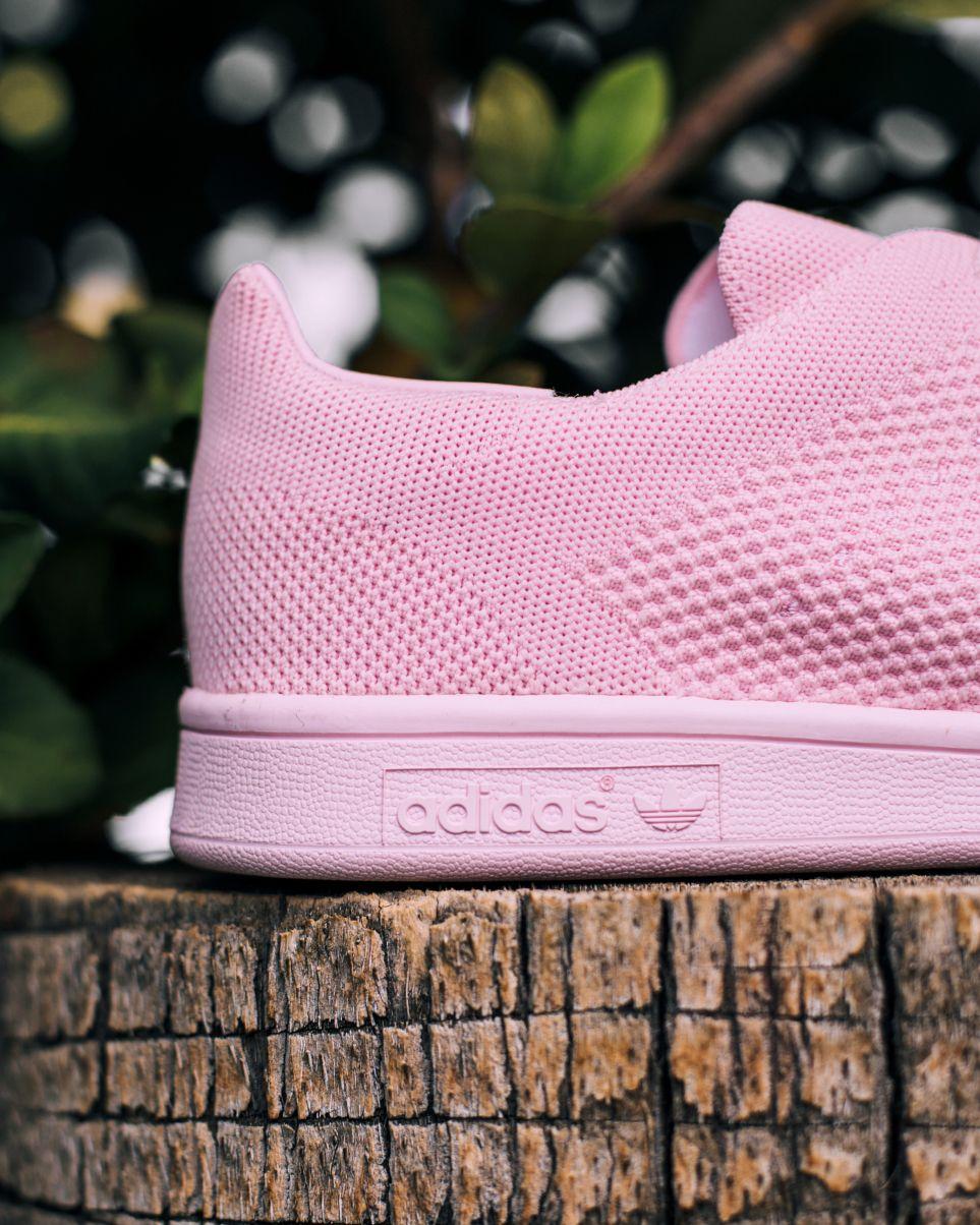 new product e3af4 83298 Adidas 'Semi Pink' Primeknit Stan Smith #Adidas #SemiPink ...
