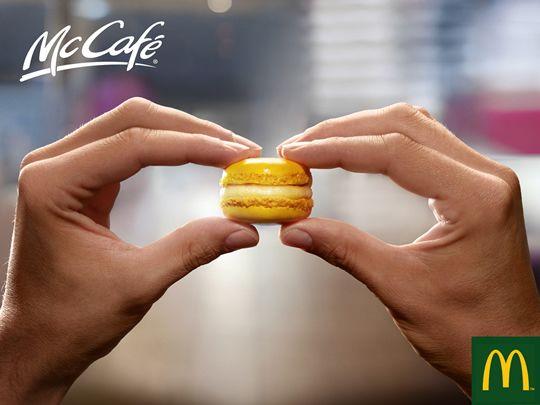 Toegankelijkheid van macarons. Publiek van de Mac komt ook ermee in aanraking