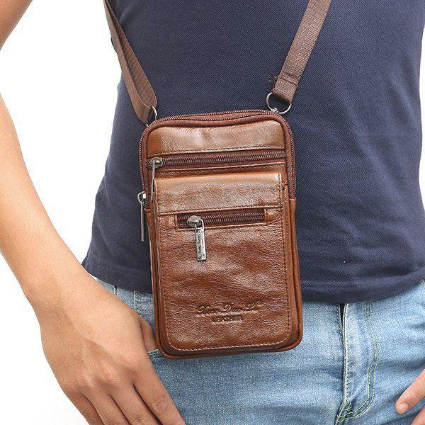 a0610f4960b36 sedo-amazom.com product men-genuine-leather-mini-sling-shoulder-bag-vintage- belt-hip-bum-bag-phone-bag