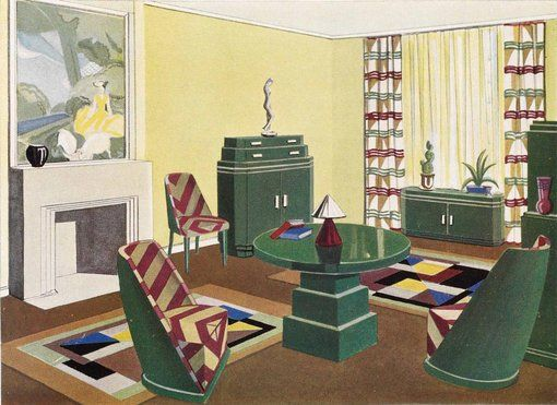 The ART of DECOrating in the 1920s and 30s Hera Roberts interior