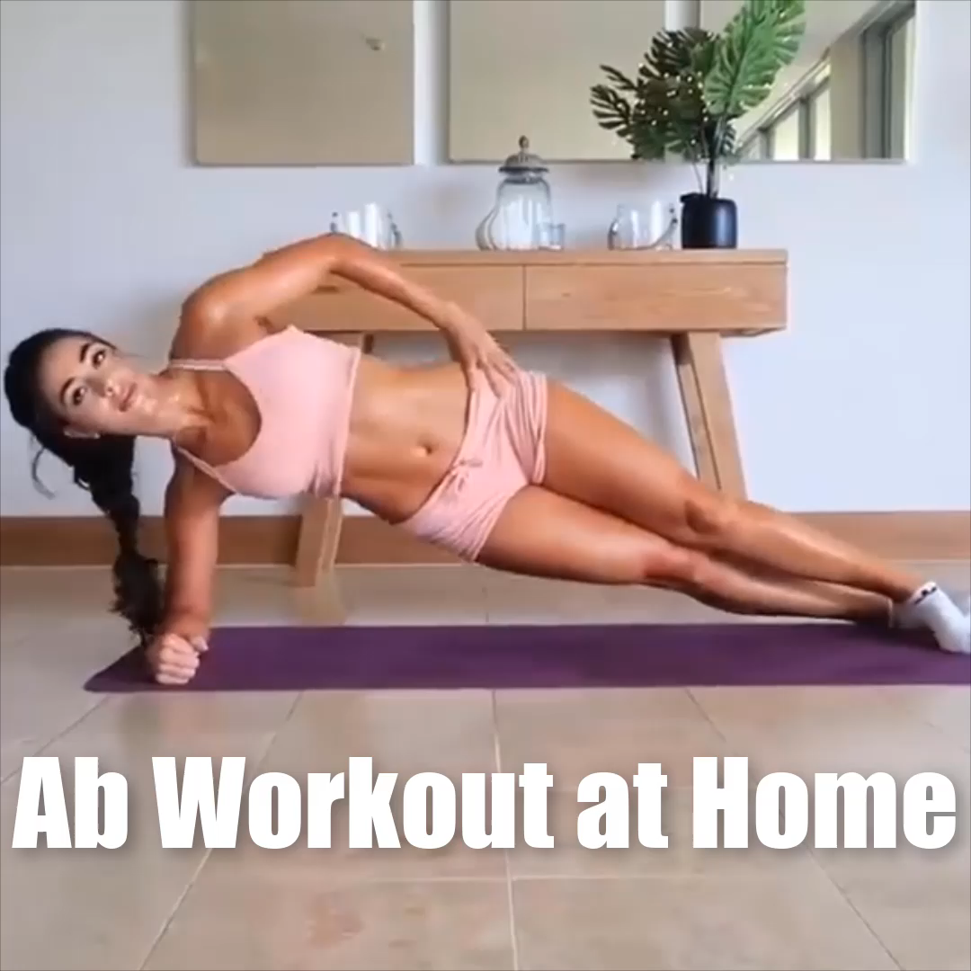 Ab workout at home without equipment ???? #Gymshark #Gym #Fitness #Exercise #Fitness #Exercises #Tryathome #athomeworkout #Sweat #Cardio #AbExercises #Abs #fitnessexercisesathome