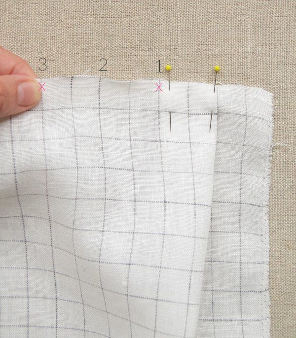 901fb1eaa2 Pleated Skirt in Linen Grid | Purl Soho | Sew Much Fun! | Pleated ...