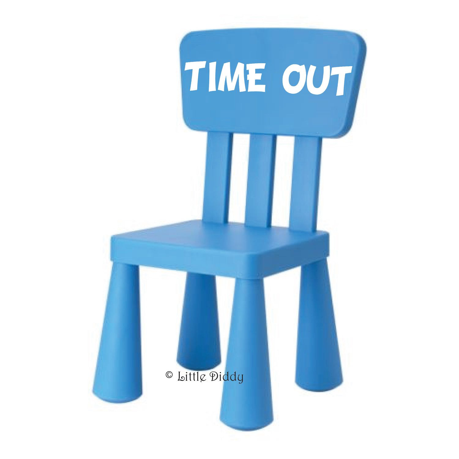 TIME OUT Vinyl Decal- perfect for a time out chair...IKEA | Toddler ...
