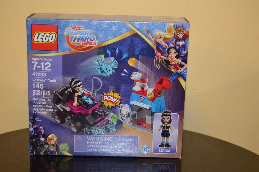 New LEGO Super Hero Girls Lashina Tank Lashina Minifig 41233