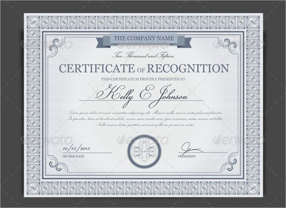 100 Amazing Photo Realistic Certificate Templates Product Mockups